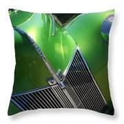40 Ford - Grill Angle-8659 Throw Pillow