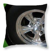40 Ford-driver Rear Wheel 2-8577 Throw Pillow