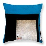 4049 X Throw Pillow