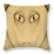 Art Abstract Throw Pillow