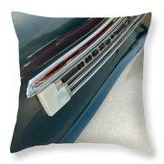 41 Hudson Super Six Emblem Throw Pillow
