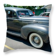 41 Hudson Super Six Side View Throw Pillow