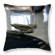 41 Packard Ornament Throw Pillow