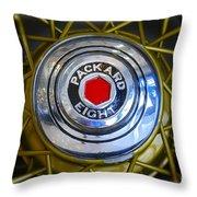 41 Packard Wheel Throw Pillow