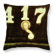 417 With A Twist Throw Pillow