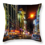 42nd Street Nyc 3.0 Throw Pillow