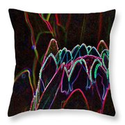 Protea Blossom Throw Pillow