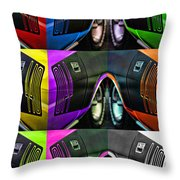 440 Cuda Billboard Pop Throw Pillow