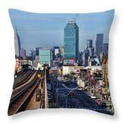 46th And Bliss Throw Pillow