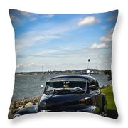 '47 Chevy By The Bay Throw Pillow