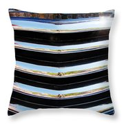 48 Chevy Convertible Grill Throw Pillow