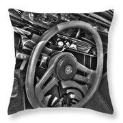 48 Chevy Convertible Interior Throw Pillow