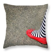 4th July Foot Throw Pillow