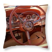 1959 Edsel Ford Throw Pillow