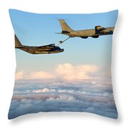 A Mc-130h Combat Talon II Throw Pillow