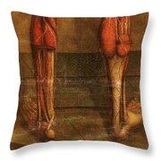 Anatomie Generale Des Visceres Throw Pillow