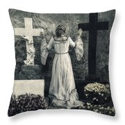Angel Throw Pillow by Joana Kruse