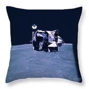 Apollo Mission 16 Throw Pillow