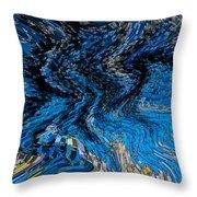 Art Abstract 3d Throw Pillow