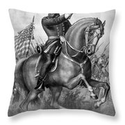 Benjamin Harrison Throw Pillow