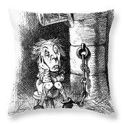 Carroll: Looking Glass Throw Pillow