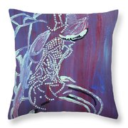 Dinka Bride - South Sudan Throw Pillow