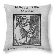 Euclid, Ancient Greek Mathematician Throw Pillow
