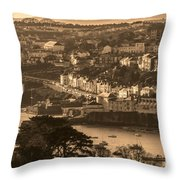 Falmouth Harbour  Throw Pillow
