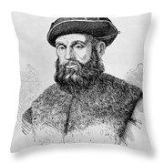 Ferdinand Magellan Throw Pillow