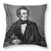 Franz Schubert (1797-1828) Throw Pillow