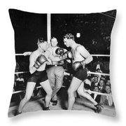 Jack Dempsey (1895-1983) Throw Pillow by Granger