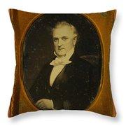 James Buchanan, 15th American President Throw Pillow