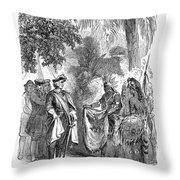 James Edward Oglethorpe Throw Pillow