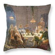 James Watt (1736-1819) Throw Pillow