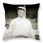 Jim Thorpe (1888-1953) Throw Pillow