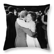 Jimmy Carter (1924- ) Throw Pillow