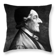 Johann Kaspar Lavater Throw Pillow