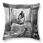 John H. Speke (1827-1864) Throw Pillow