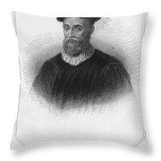 John Knox (1513-1572) Throw Pillow