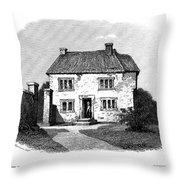 John Locke (1632-1704) Throw Pillow