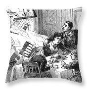 Johnstown Flood, 1889 Throw Pillow