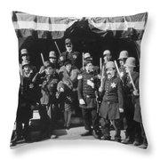 Keystone Kops Throw Pillow