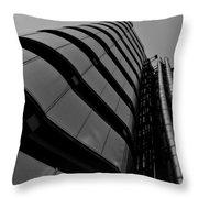 Lloyds Building London Throw Pillow