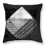 London Southbank Abstract Throw Pillow