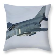 Luftwaffe F-4f Phantom II Throw Pillow
