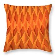 Mathematical Origami Throw Pillow