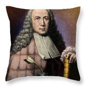 Morgagni, Italian Anatomist Throw Pillow
