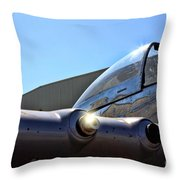 North American P-51 Mustang  Throw Pillow