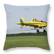 Plane Throw Pillow