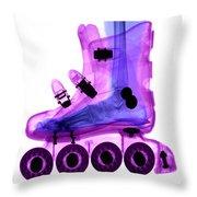 Rollerblade Boot Throw Pillow